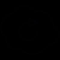Cloud refreshment symbol vector