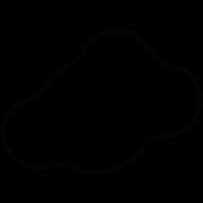 Cloud Alone vector logo