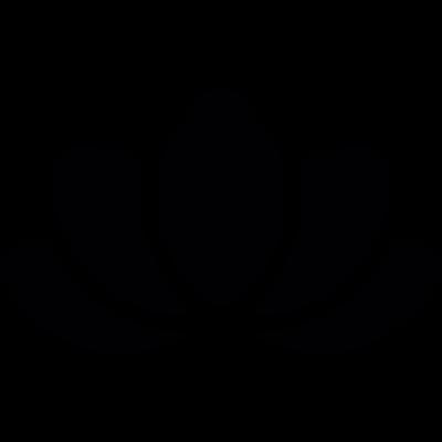 Beautiful Lotus flower vector logo