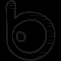 Badoo Draw Logo vector
