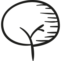 Drawing of a tree vector