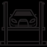 Car Lift vector