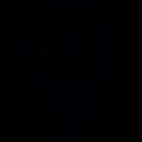 Restaurant Pin vector