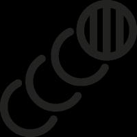 Circular Frames vector