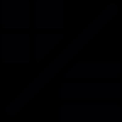 Cancel View modes vector logo