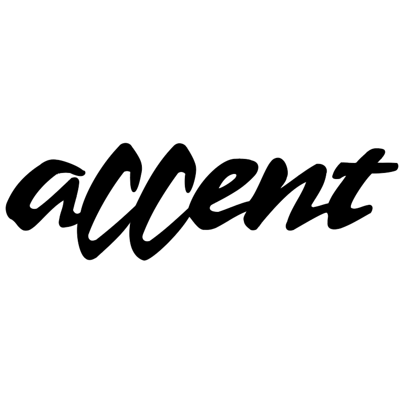 Accent 6983 vector