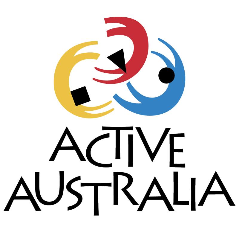 Active Australia vector