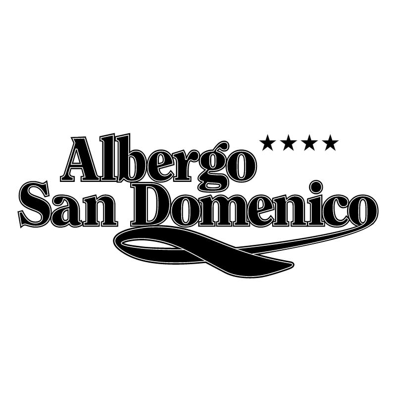 Albergo San Domenico 54475 vector