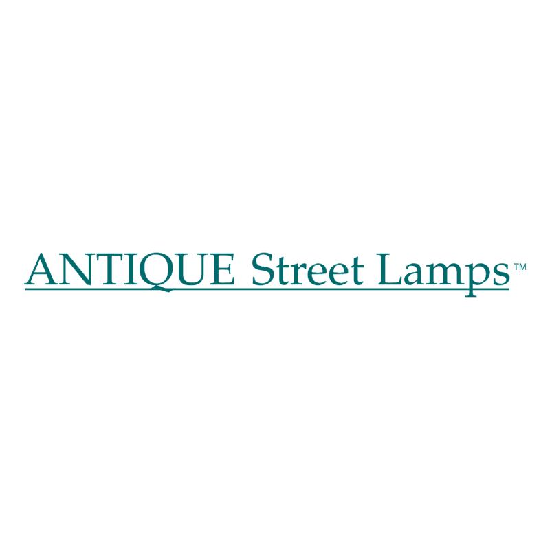 Antique Street Lamps vector