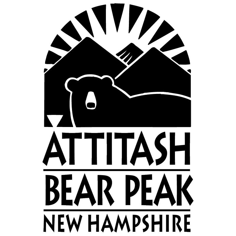 Attitash Bear Peak vector