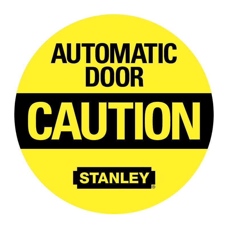 Automatic Door Caution vector