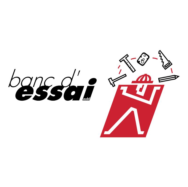 Banc d'Essai vector