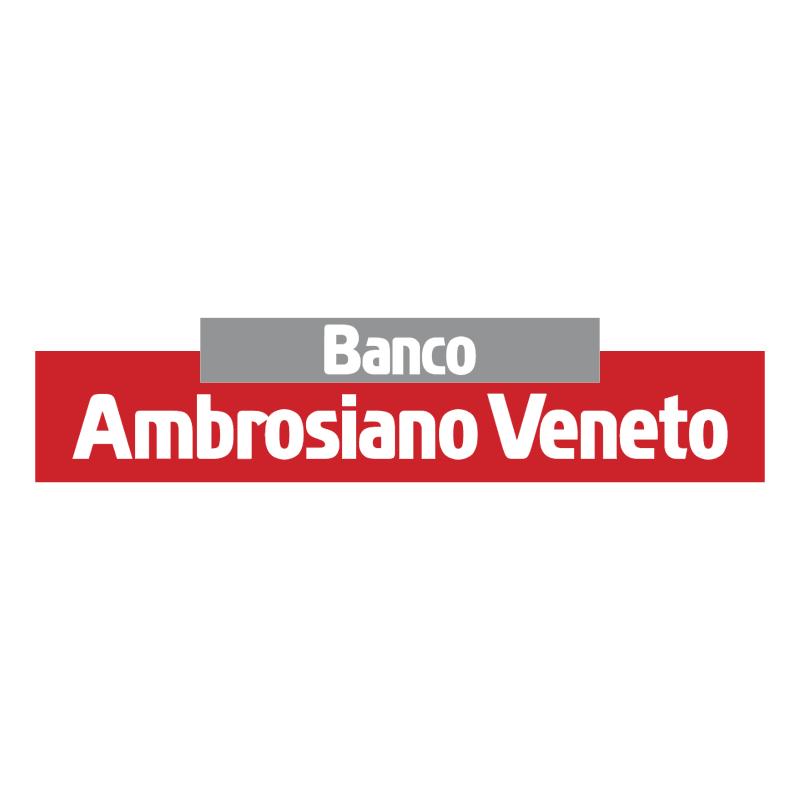 Banco Ambrosiano Veneto vector
