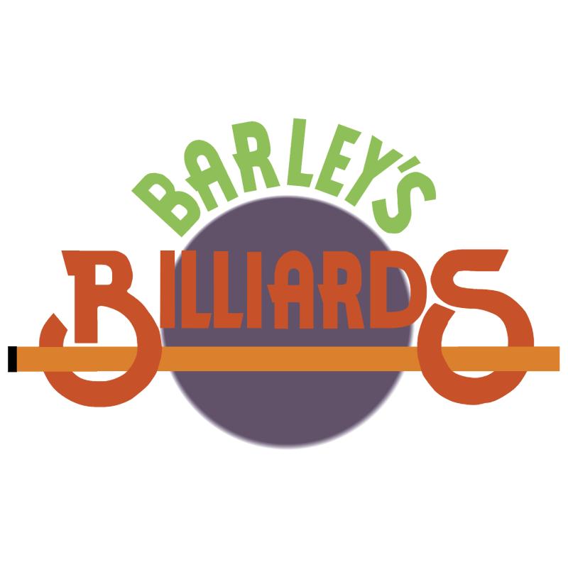 Barley's Billiards 6136 vector