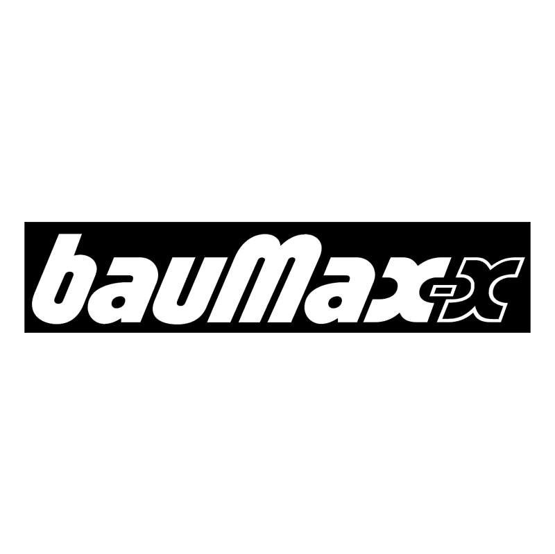 bauMax x vector logo