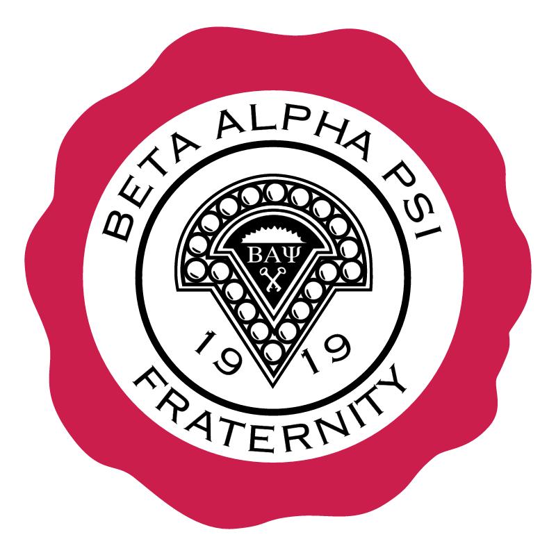 Beta Alpha PSI Fraternity vector