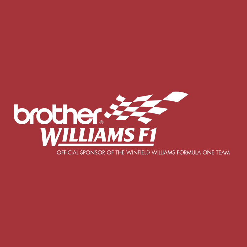 Brother Williams F1 83264 vector