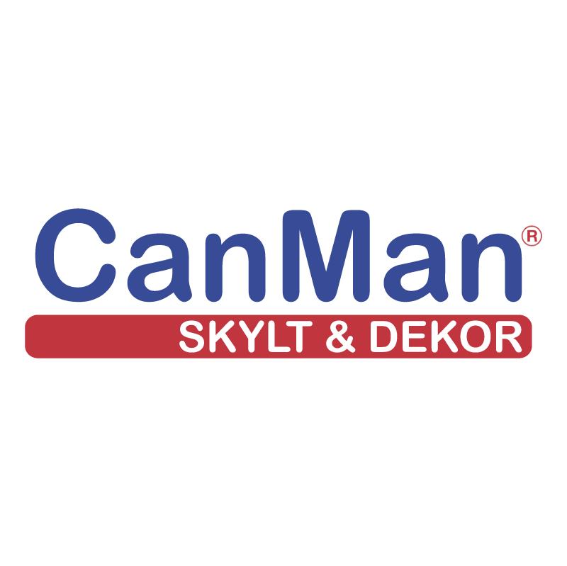 CanMan Skylt & Dekor vector
