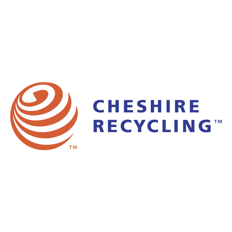 Cheshire Recycling vector logo