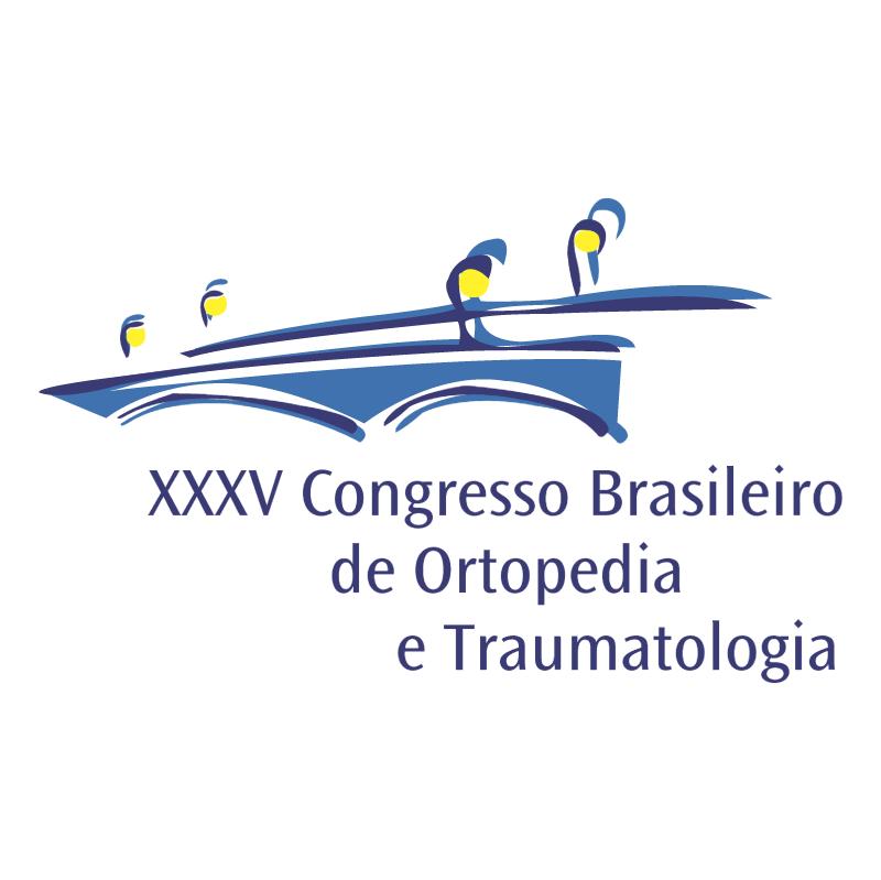 Congresso Brasileiro de Ortopedia e Traumatologia vector