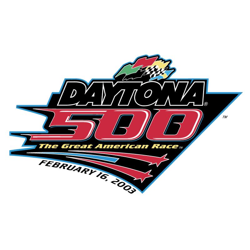 Daytona 500 vector