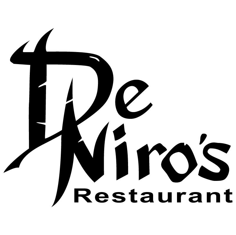 De Niro's Restaurant vector