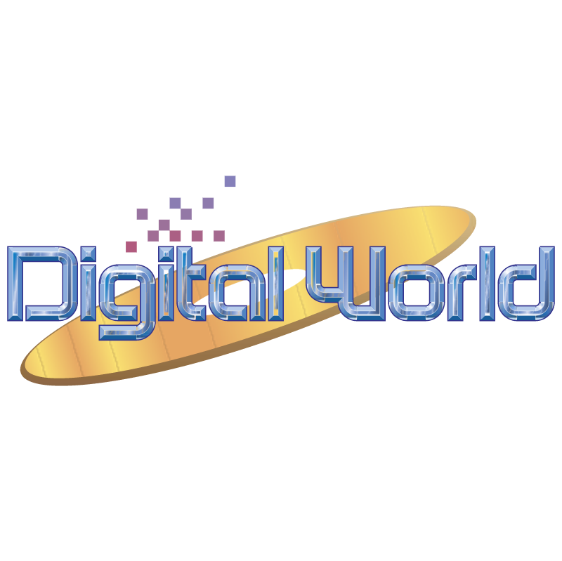Digital World vector