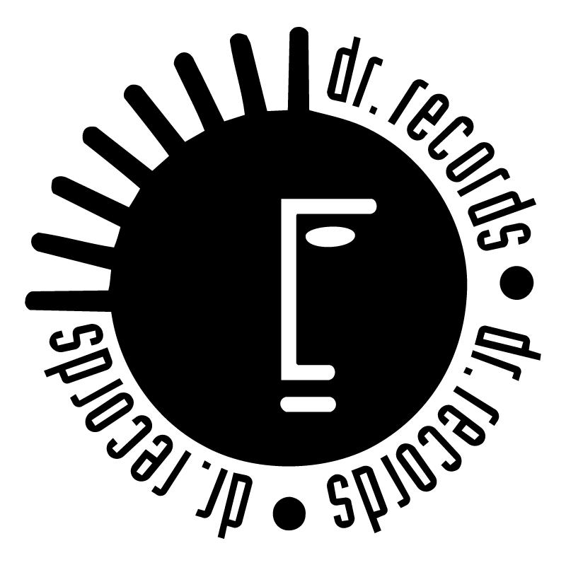 Dr Records vector logo