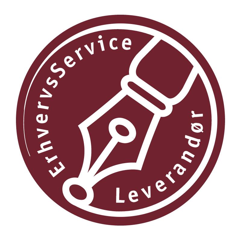 ErhvervsService Leverandor vector