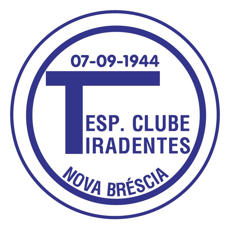 Esporte Clube Tiradentes de Nova Brescia RS vector
