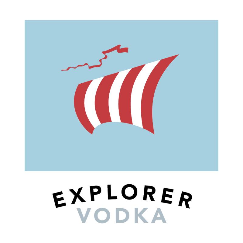 Explorer Vodka vector