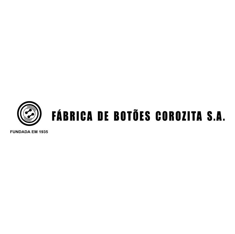 Fabrica de Botoes Corozita vector logo