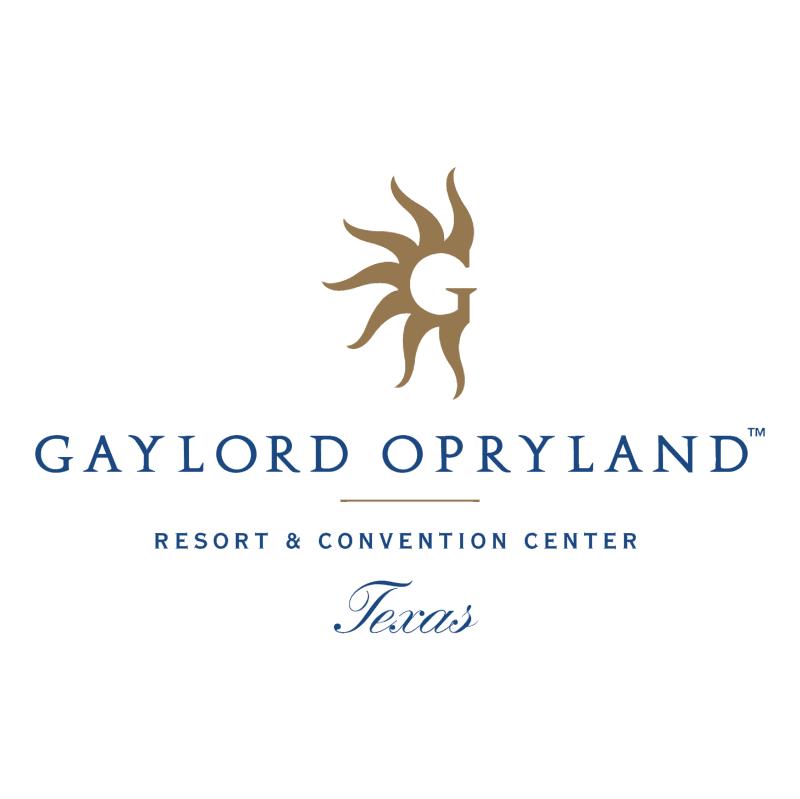 Gaylord Opryland vector