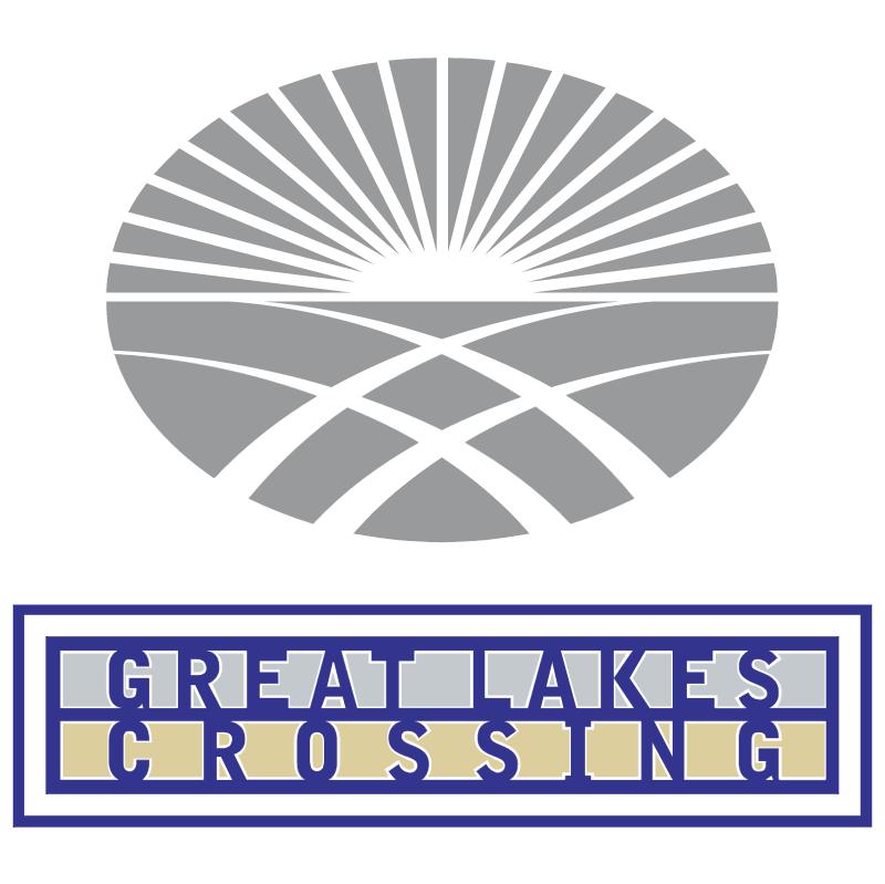 Great Lakes Crossing vector logo