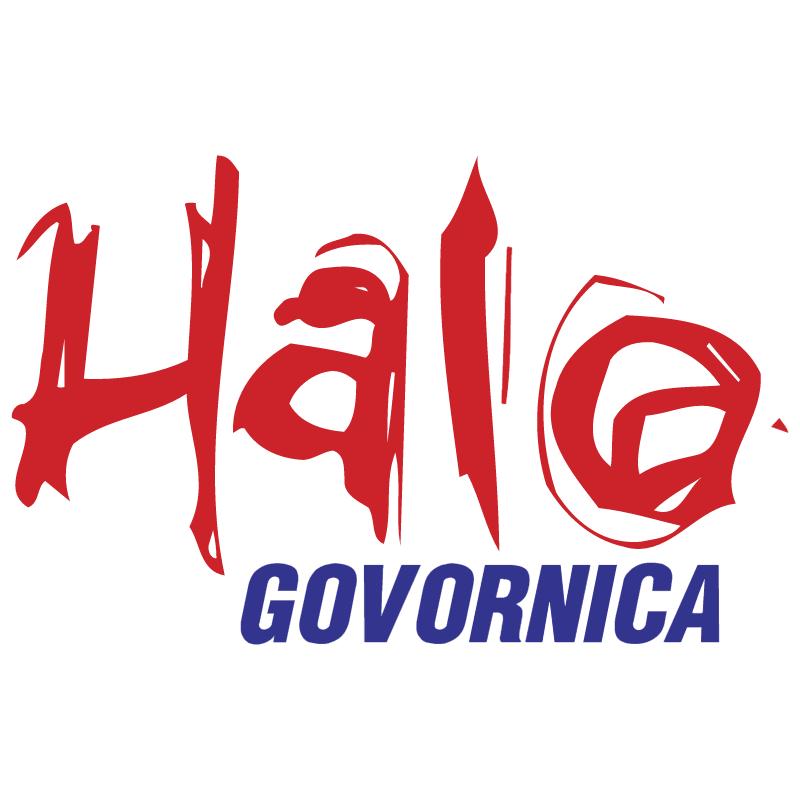 Halo Govornica vector logo