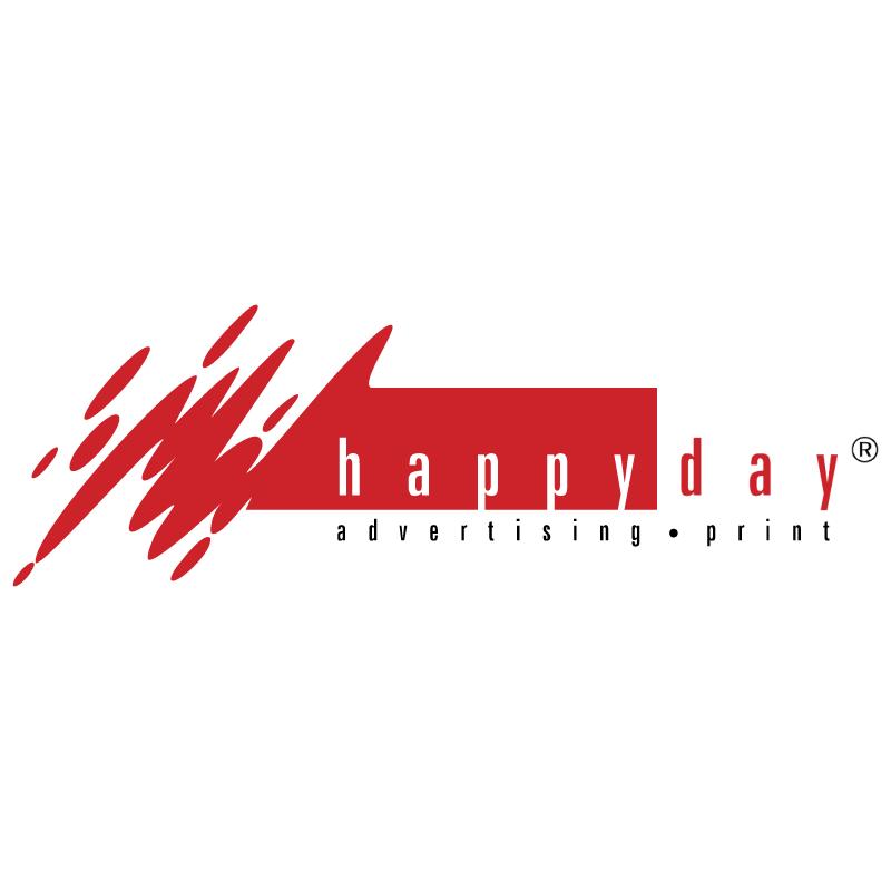 Happy Day vector logo