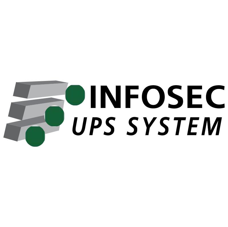 Infosec UPS System vector