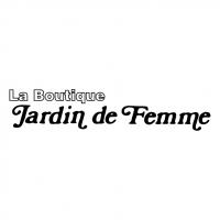 Jardin de Femme vector
