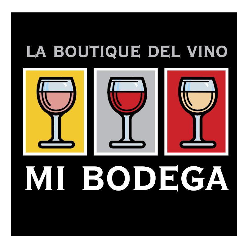 La Boutique Del Vino Mi Bodega vector