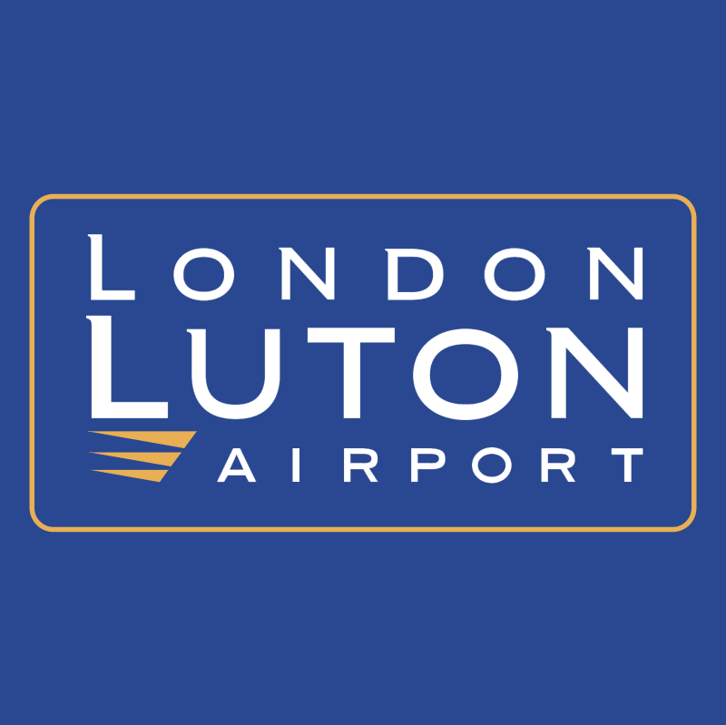 London Luton Airport vector