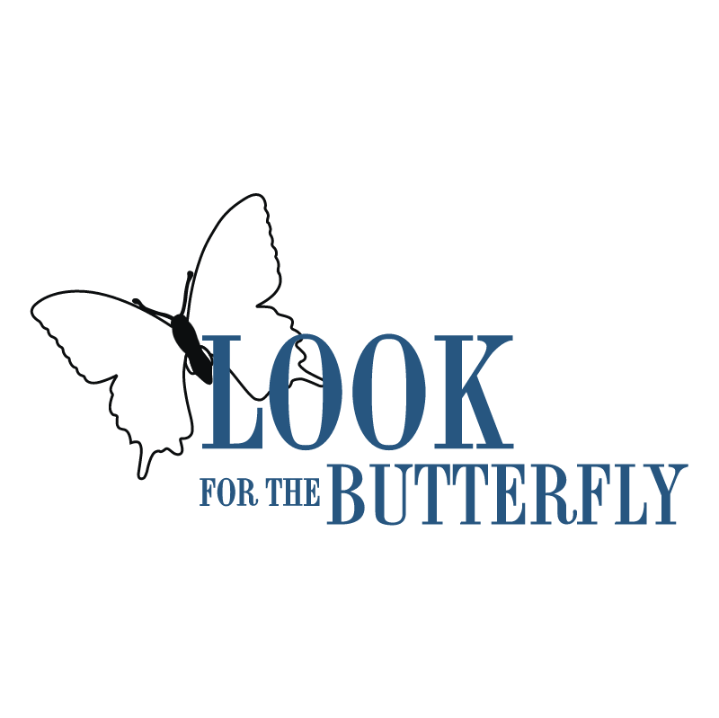 Look For The Butterfly vector
