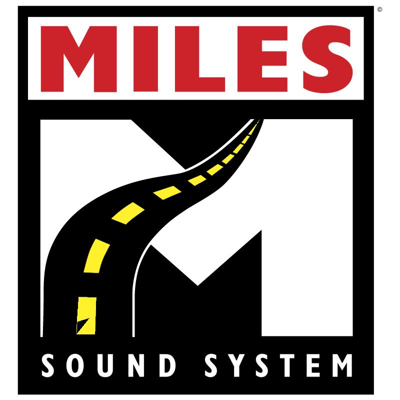 Miles Sound System vector logo