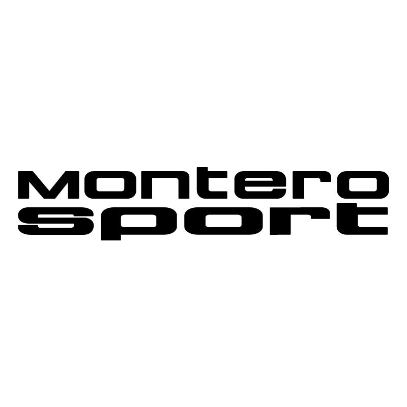 Montero Sport vector