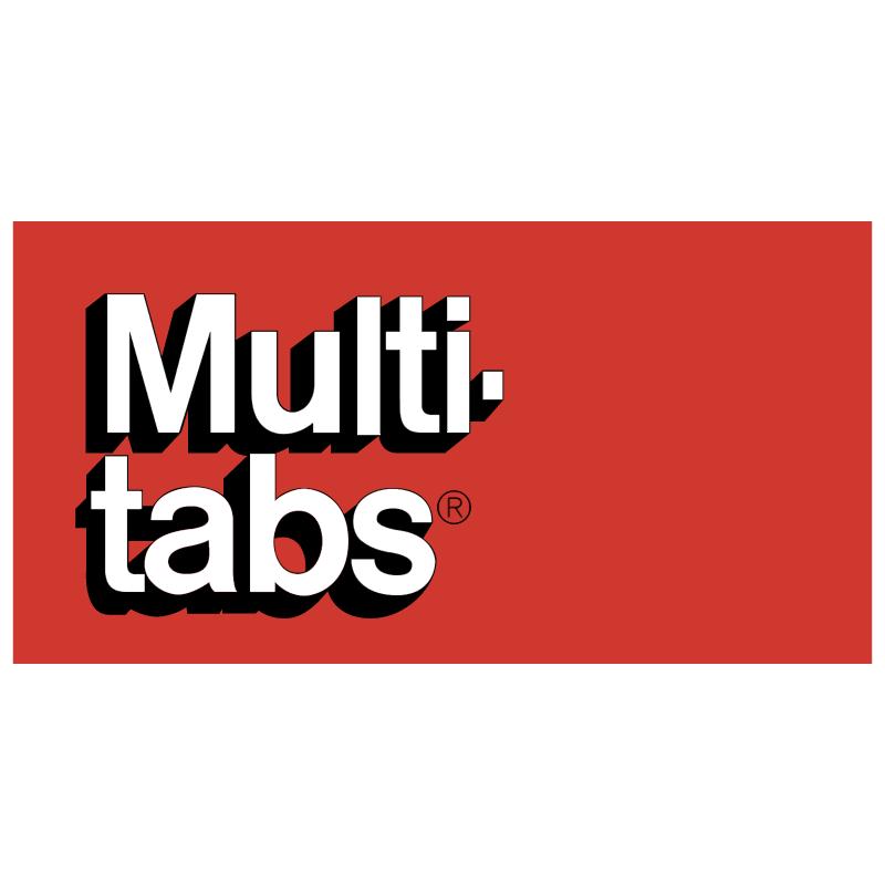 Multi tabs vector