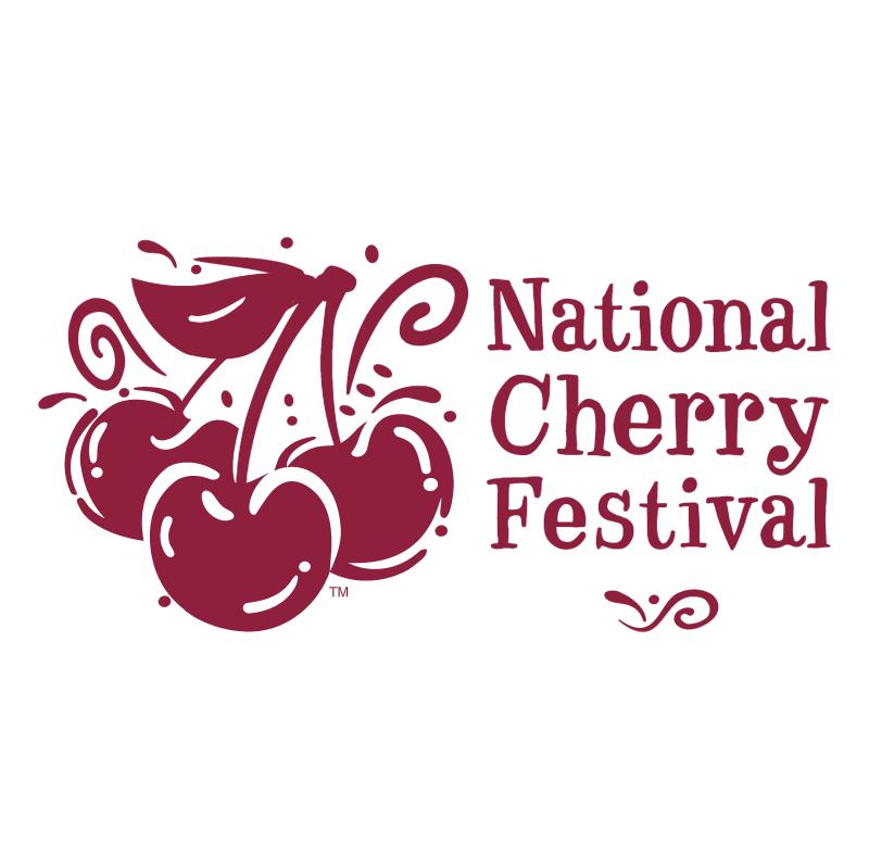 National Cherry Festival vector logo