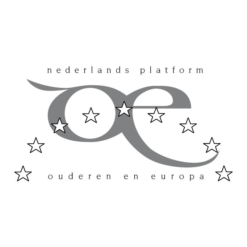 Nederlands Platform Ouderen en Europa vector