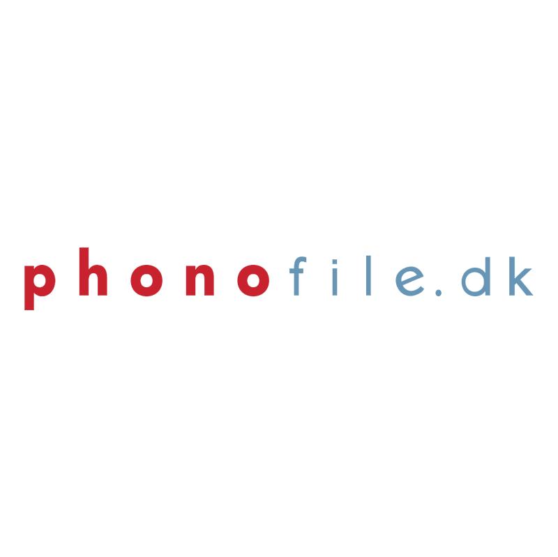 Phonofile dk vector