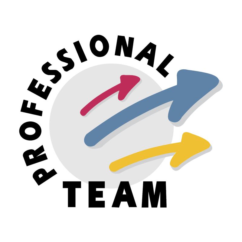 Professional Team vector