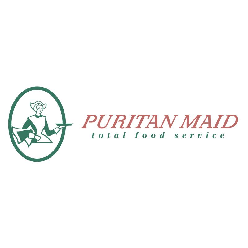 Puritan Maid vector