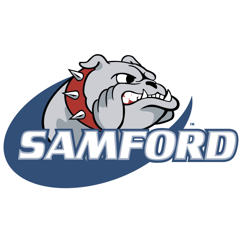 Samford Bulldogs vector